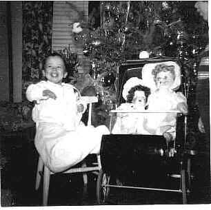 Mary at Christmas 1951
